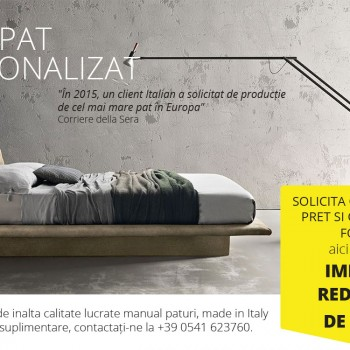 Cerere de pat pe măsurare - 100% Made in Italy