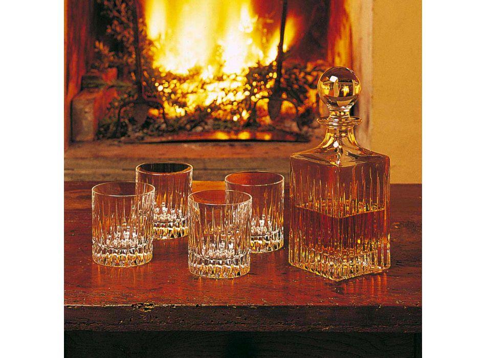 12 pahare cu whisky scăzut sau apă de pahar în cristal ecologic - Voglia