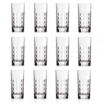 12 pahare Highball pentru băuturi răcoritoare sau băuturi lungi în Eco Crystal - Titanioball