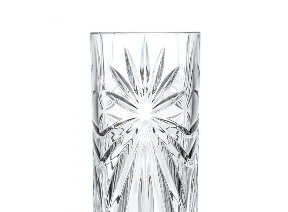 12 pahare de cocktail Highball Tumbler Tall în design Eco Crystal - Daniele