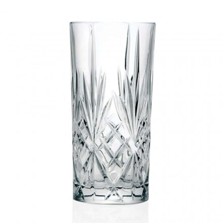 12 pahare, High Tumbler, Highball pentru cocktail în Eco Crystal - Cantabile