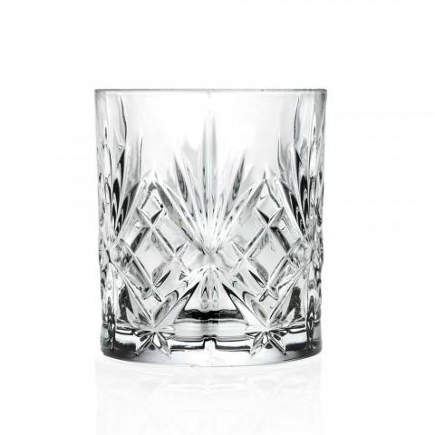 12 ochelari de design vintage, din sticlă sonoră Eco Superior - Cantabile