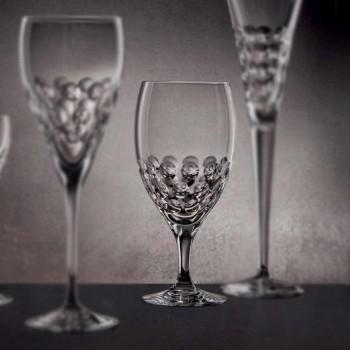 12 pahare de bere în design ecologic de lux decorat cu cristale ecologice - Titanioball