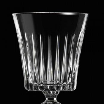 12 pahare de vin ecologice de cristal cu apă de cocktail - Senzatempo