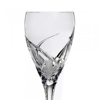 12 pahare de degustare de vin de lux în Eco Crystal - Montecristo