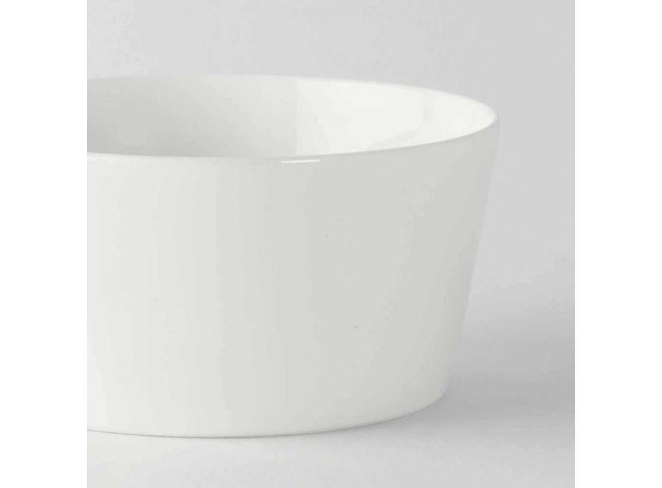 12 Cupe de înghețată sau fructe de porțelan de design modern - Egle