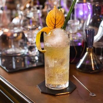 12 pahare de cocktail Highball High Highball sau apă decorată de lux - Destin
