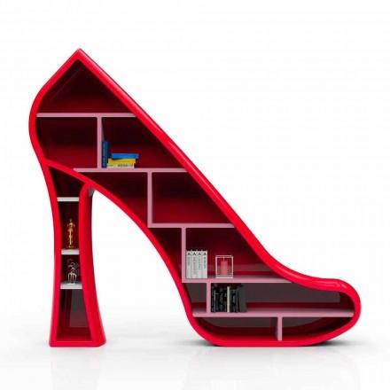 Biblioteca de design modernă din Solid Surface Lady fabricată în Italia