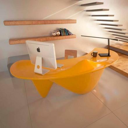 Birou de birou realizat manual în Italia Sinuous