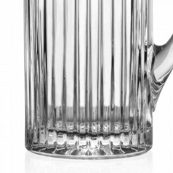 2 ulcioare de apă și băuturi în design de lux decorat cu cristale ecologice - Senzatempo