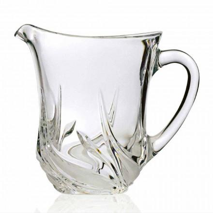 2 ulcioare ecologice cu apă de cristal, cu decorațiuni de lux, fabricate în Italia - Advent
