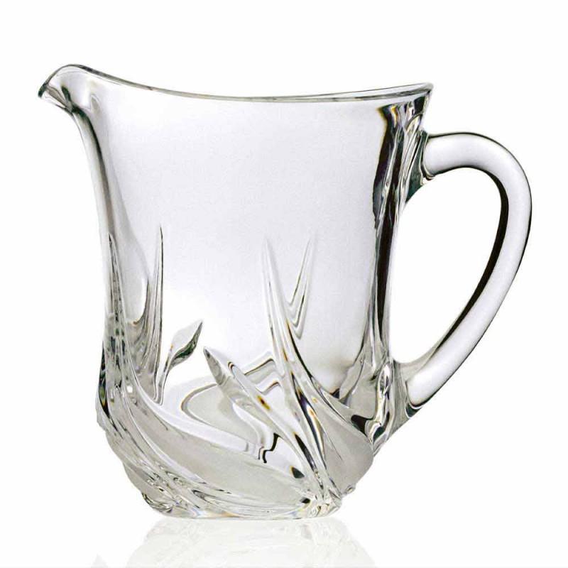 2 ulcioare de apă în cristal ecologic cu decorațiuni de lux fabricate în Italia - Advent