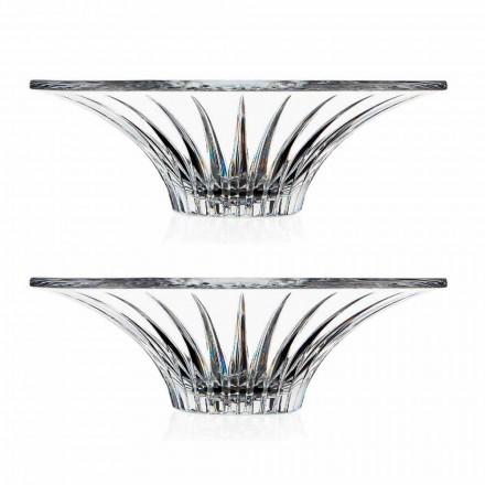 2 Piesa centrala ultrasonică superioară din sticlă sonoră Lux și design - Senzatempo