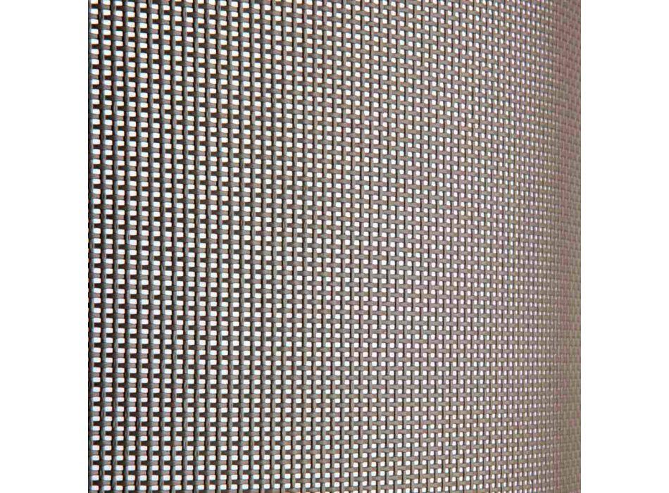 2 Lunguri de șezlong în aer liber din metal și țesătură realizate în Italia - Perlo