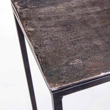 2 Console din oțel stil industrial Design modern Homemotion - susan