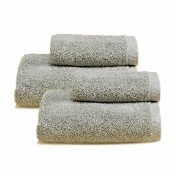 2 perechi de prosoape de baie colorate Service în bumbac Spguna - Vuitton