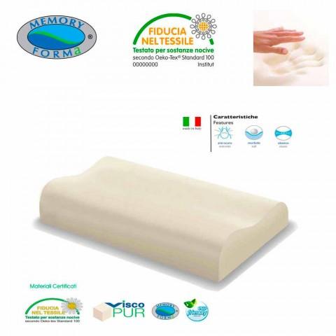 2 perne hipoalergice ergonomice de spuma de memorie de memorie de col uterin