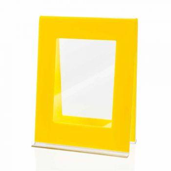 2 Cadru foto de masă multiplă în design italian din plexiglas colorat - Tarino