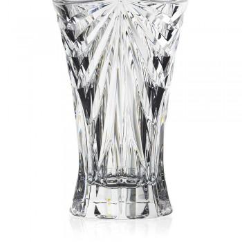 2 vase de decorare de masă în cristal unic ecologic de design unic - Daniele