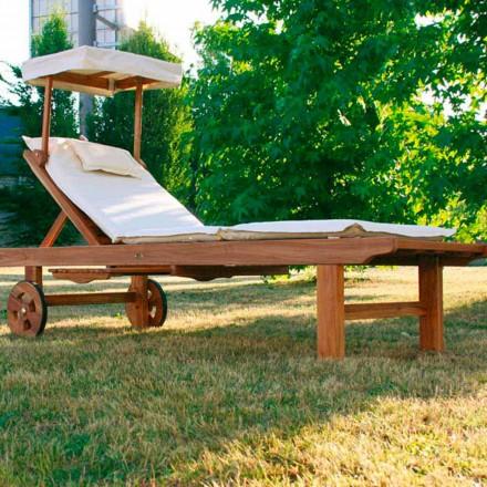 gradina din lemn de tec pentru copii reglabil