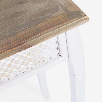3 Console de design în stil clasic din bambus de brad bambus și MDF - Camalow