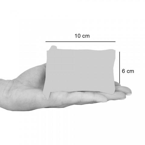 3 clutch-uri din bumbac printate manual în piese unice - Viadurini by Marchi