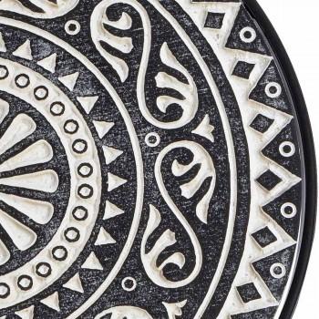 3 Mese de cafea în MDF cu decorațiuni încrustate Homemotion - Mariam