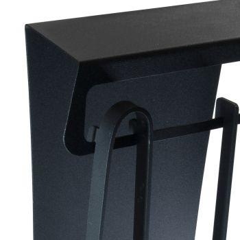 Accesorii pentru șemineu din oțel vopsit Fabricat în Italia 3 bucăți - Virgil
