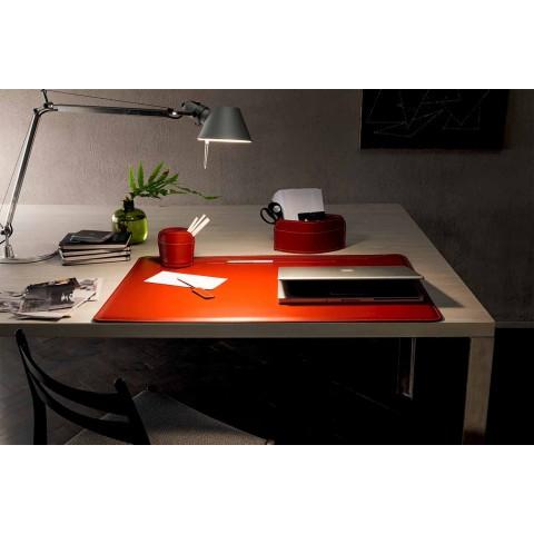 Accesorii pentru birou regenerate din 4 piese Made in Italy - Ebe