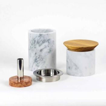 Accesorii pentru economisirea spațiului pentru unelte de bucătărie din marmură, lemn și oțel - Astoria