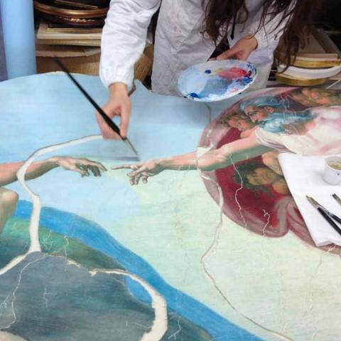 Frescele pictate și personalizate adaptate