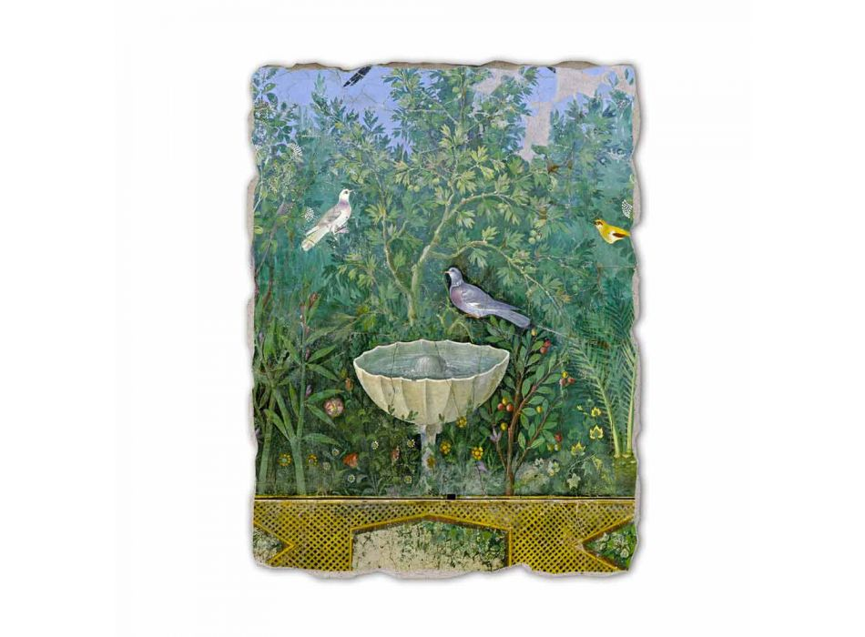 """Roman Fresco """"Gradina cu fântână arteziană Erme și"""" speciale"""
