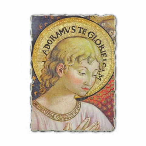 "Fresco Benozzo Gozzoli ""Coruri de Îngeri în adorație"""