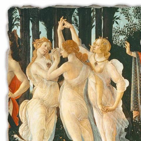 """Fresca lui Botticelli """"Alegoria de primăvară"""" - detaliu"""