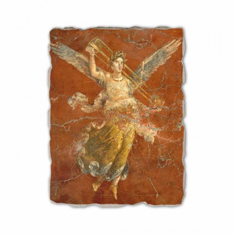 "Fresco manual italian Roman ""Ciclul de Muzelor"""