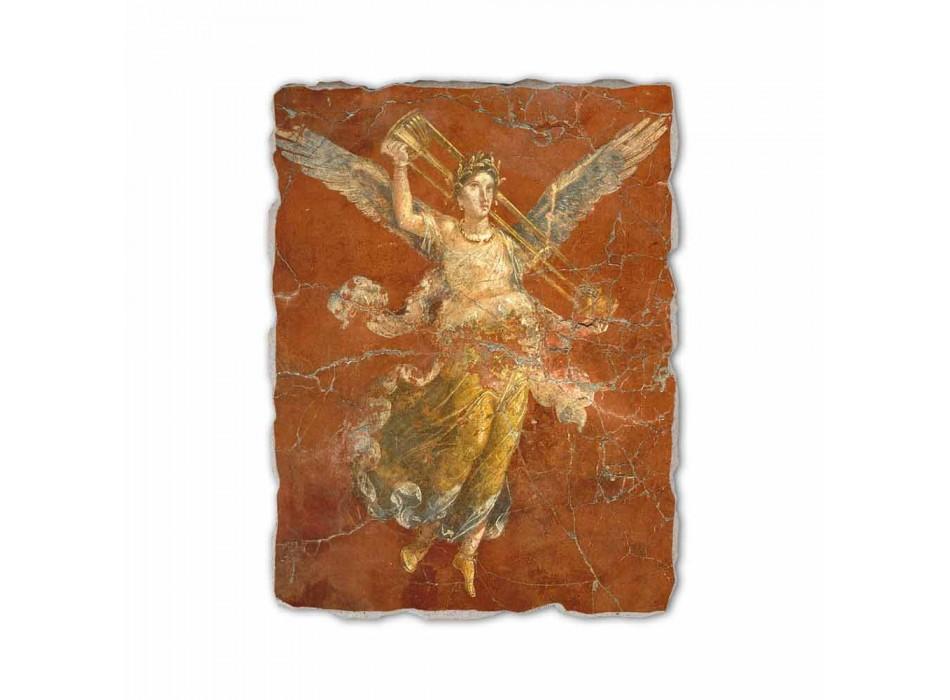 """Fresco manual italian Roman """"Ciclul de Muzelor"""""""