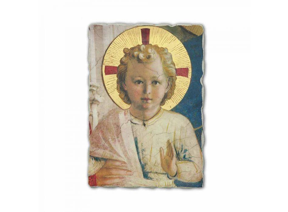 "Fresco realizate manual în Italia Beato Angelico ""Madonna Umbre"""