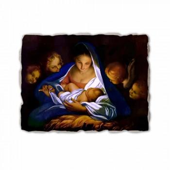 """Fresco realizate manual italian Carlo Maratta """"Nașterea Domnului"""", în 1650"""