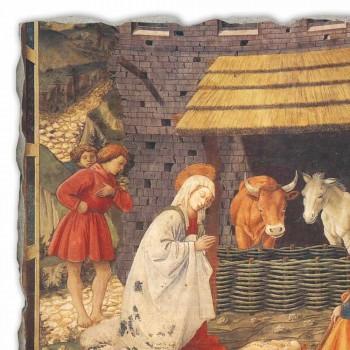 """Fresco manual italian Filippo Lippi """"Nașterea Domnului"""""""