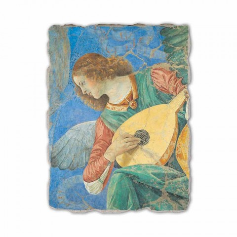"""Fresco manual Melozzo da Forlì """"Angelo Musicante"""""""