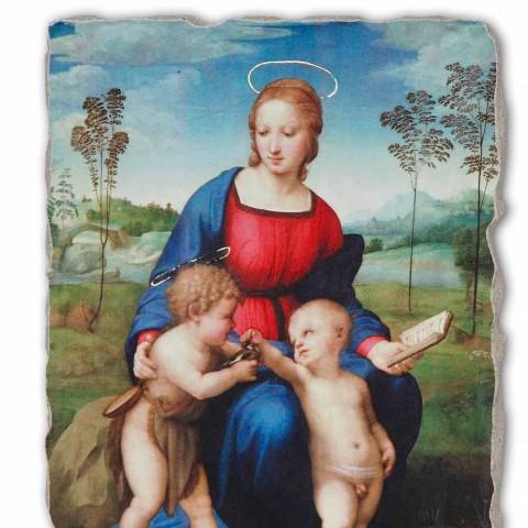 """Fresco manual Raffaello Sanzio """"Madonna a goldfinch"""""""