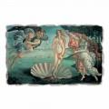 """Fresco făcut în Italia lui Botticelli """"Nașterea lui Venus"""""""