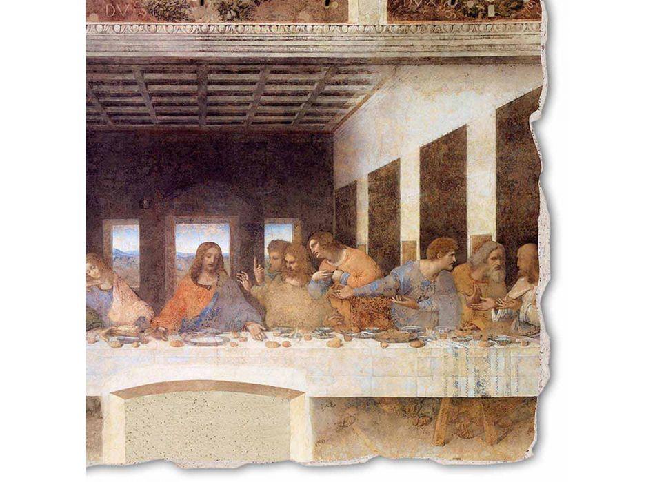 """Fresco făcut în Italia, Leonardo da Vinci """"Cina cea de Taină"""""""