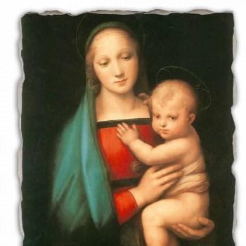 "Fresco italian-a făcut Raffaello Sanzio ""Madonna del Granduca"""