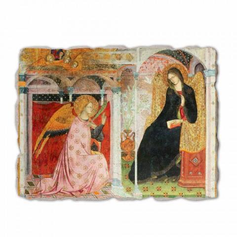 """Fresco Friar Ilario din Viterbo """"Buna Vestire"""", în special"""