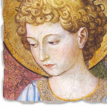 """Gozzoli Fresco """"Coruri de Îngeri în adorație"""" - ca 1454"""