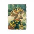 """Gozzoli fresca """"Cortegiul Magilor cu regele Melchior"""""""