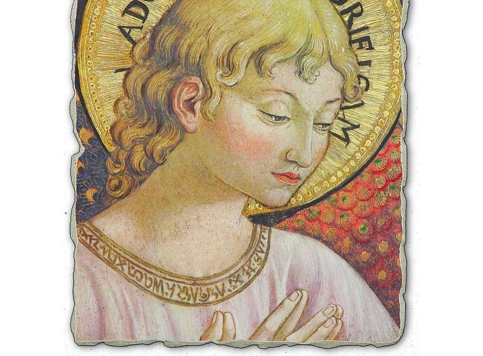 "mare Benozzo Gozzoli fresca ""corurile Angels în adorație"""