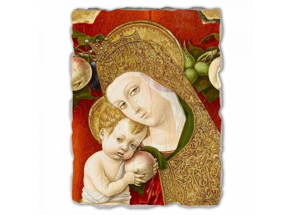 """Marele Fresco Carlo Crivelli """"Madonna Lochis"""" 1475"""
