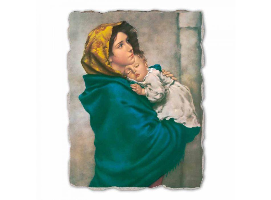 """Marele Fresco manual Ferruzzi """"Our Lady of Rest"""""""